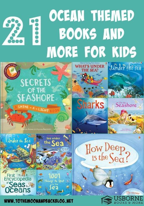 21 ocean themed books for kids
