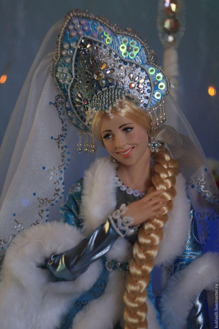 Купить Большие куклы Дед Мороз и Снегурочка (под елку) - Дед Мороз и Снегурочка