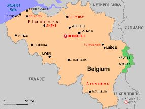 History of Belgian Cuisine (plus recipes) - http://www.recipes4us.co.uk/Cooking%20by%20Country/Belgium.htm