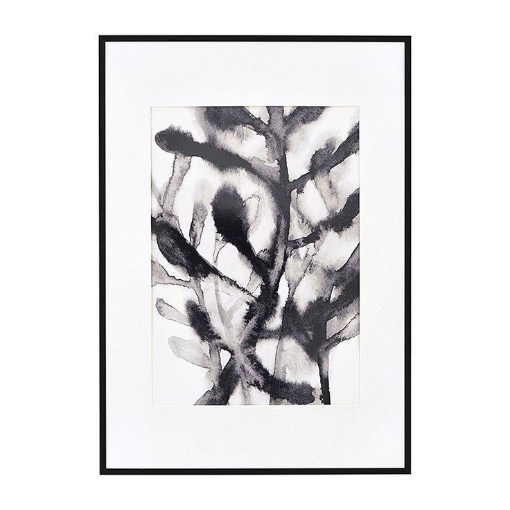 Illustration mit Rahmen Herbaceous Black 42x59 cm von house doctor