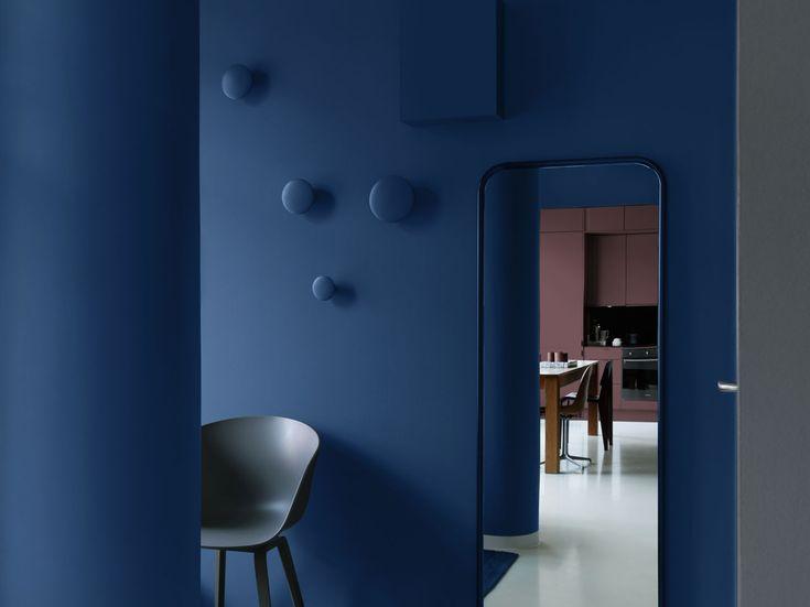 Studio Blå color paint seriesby Alcro.