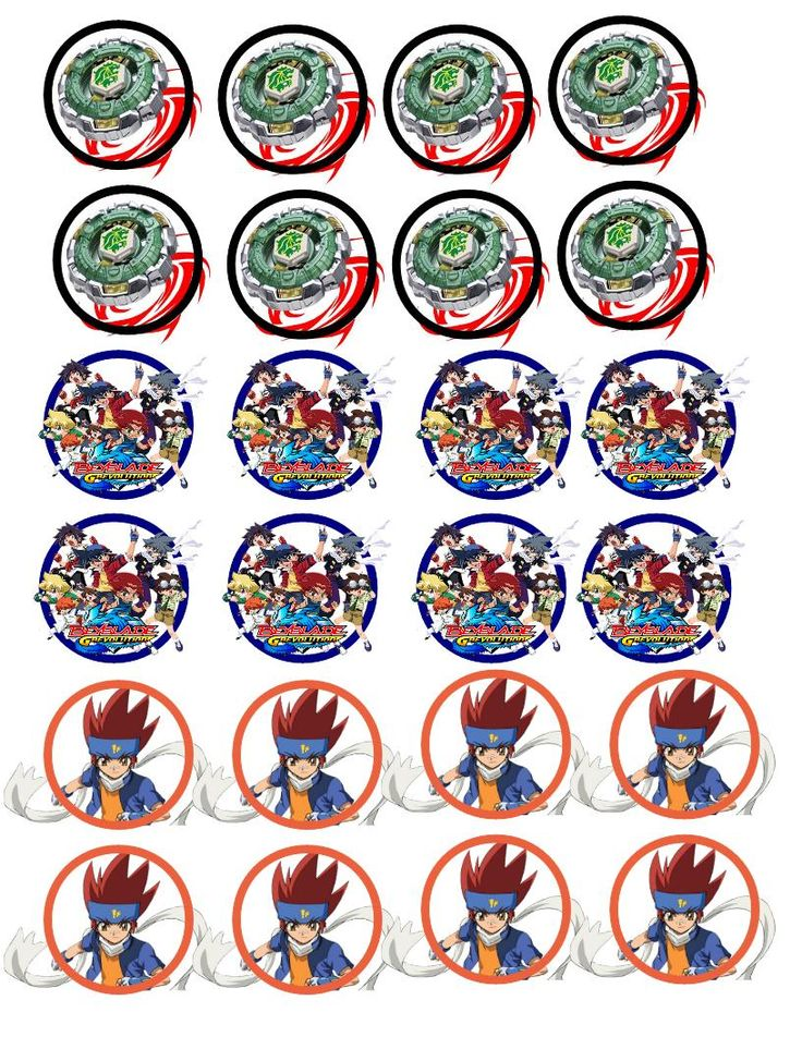 17 best images about beyblade on pinterest coloring for Anime beyblade cake topper decoration set