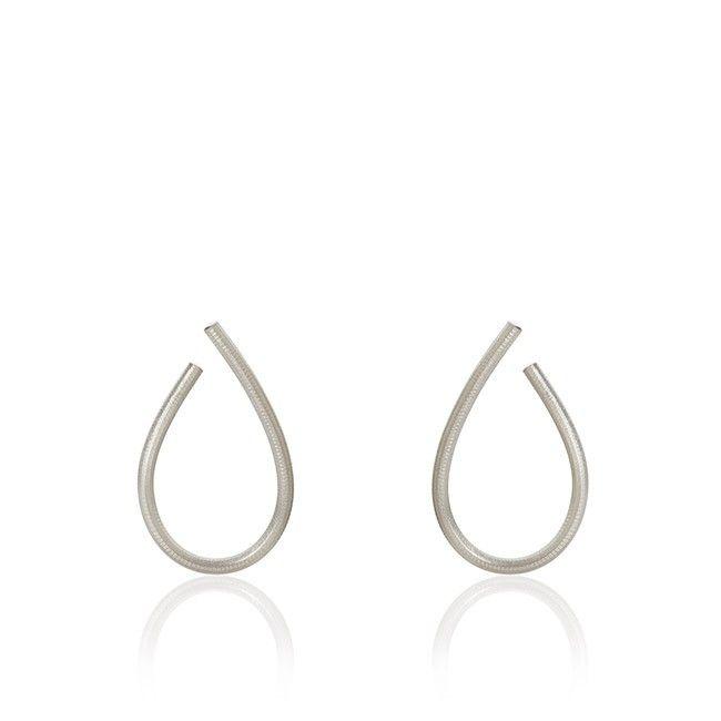 Marianne Dulong Kharisma øreringe mellem str i sølv