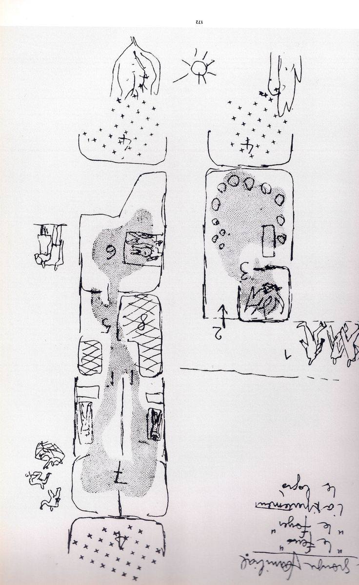 01. MAPPING A PLACE ********************* [Le Corbusier - illustration of the book 'L'urbanisme et la regle des 7v, in Oeuvre complete 1946-1952]