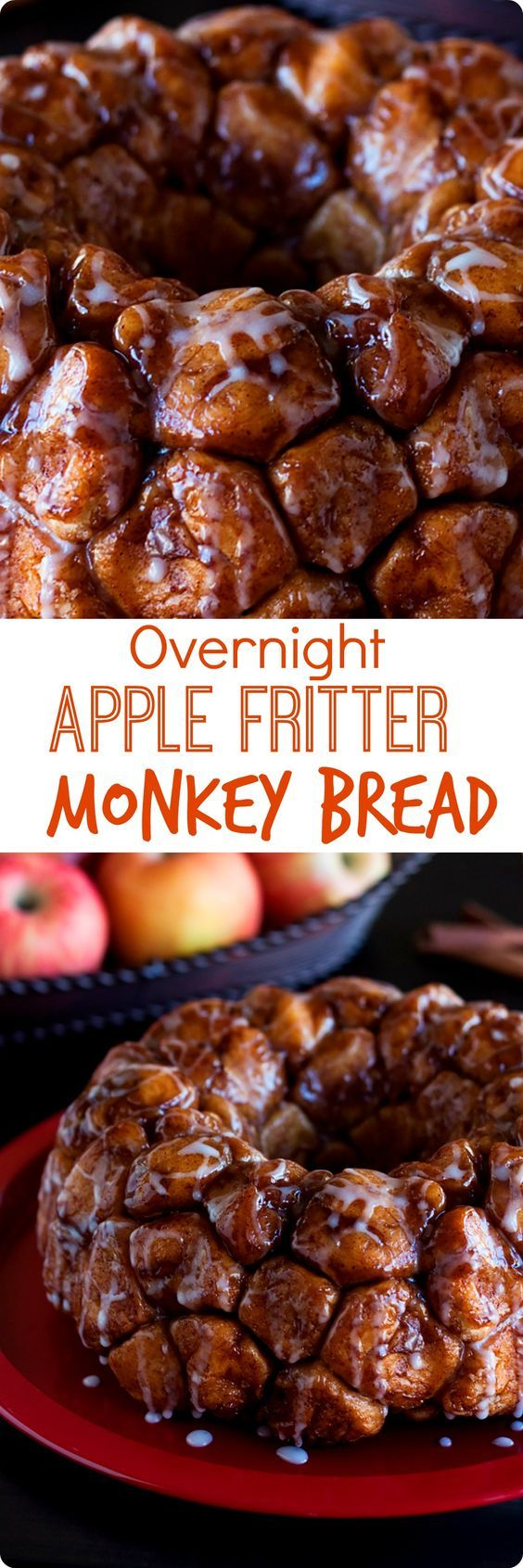 Overnight Apple Fritter Monkey Bread