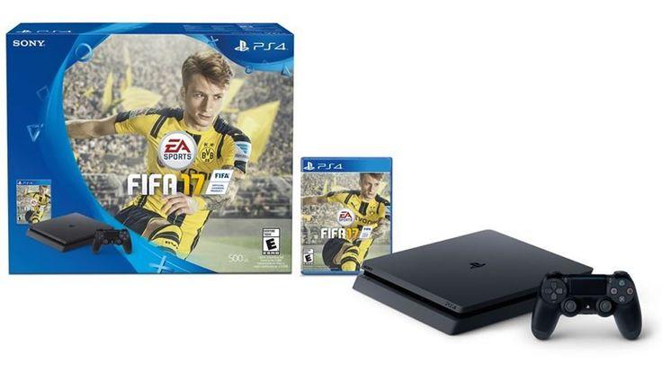 PlayStation 4 Slim 500GB + FIFA 2017, oferta del día en Amazon | Buen Fin 2016 - https://webadictos.com/2016/11/18/playstation-4-amazon-buen-fin-2016/?utm_source=PN&utm_medium=Pinterest&utm_campaign=PN%2Bposts
