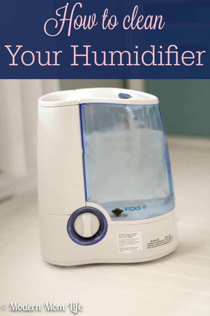 how to clean vicks humidifier with vinegar