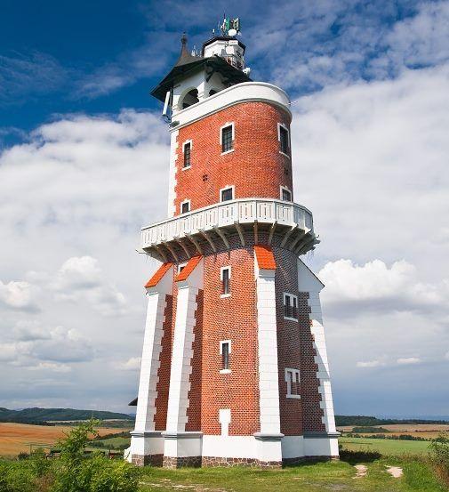 Schillerova Rozhledna - Kryry, Schiller's tower - Kryry, Czech Republic.