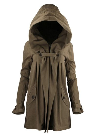 Nicholas K Anthro Jacket - Perfect.  Kind of like modern-day Red Riding Hood . . . without the red.