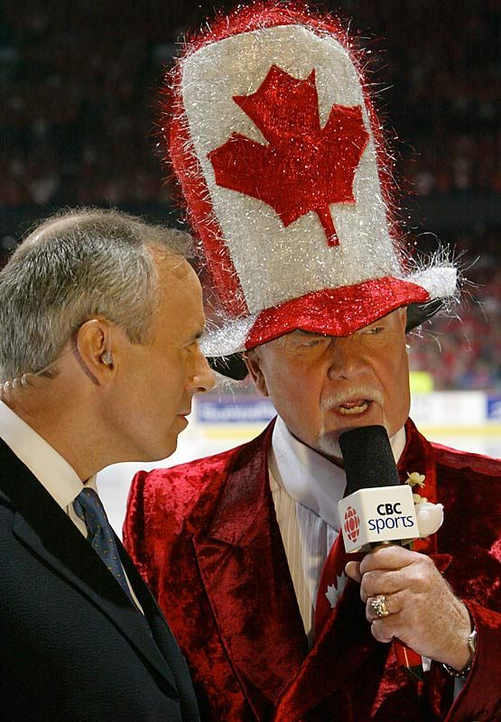 Mr. Canada-Don Cherry (for Prime Minister) and Ron MacLean.