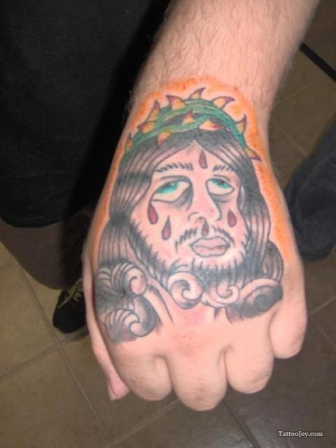 jesus-hand-tattoo