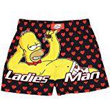 "The Simpsons Homer ""Ladies Man"" Men's Boxer Shorts"