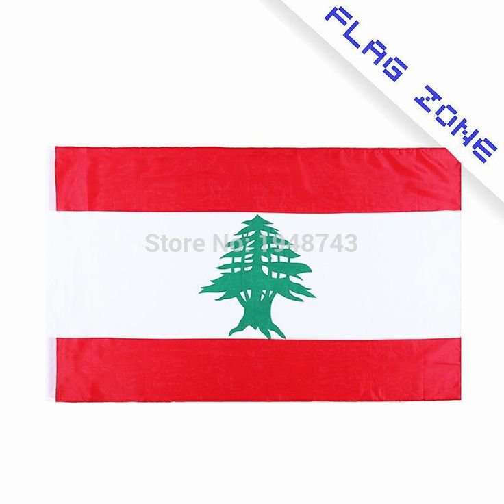 2017 The Lebanon  Flag   Polyester Flag 5*3 FT 150*90 CM High Quality you can add brass buckle(leave massage)