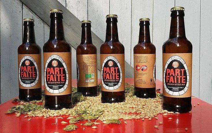 Brassée artisanalement, Part Faite est à ce jour la seule bière bio made in Marseille