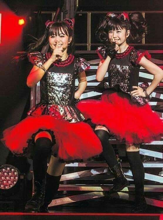 Yui & Moa Metal Baby Metal
