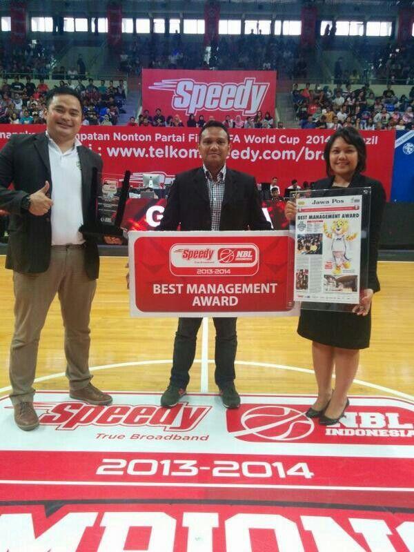 NBL Best Management Awards season 2013-2014