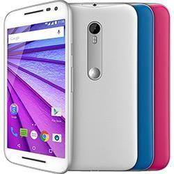 """Smartphone Motorola  Moto G 3ª Geração Ds Colors HDTV Dual Chip Desbloqueado Oi Android 5"""" 16GB Wi-Fi Câmera 13MP + 2 capas -…"""