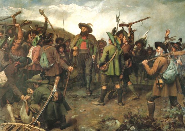 February 20, 1810 – Andreas Hofer, Tirolean patriot and leader of rebellion against Napoleon's forces, is executed.