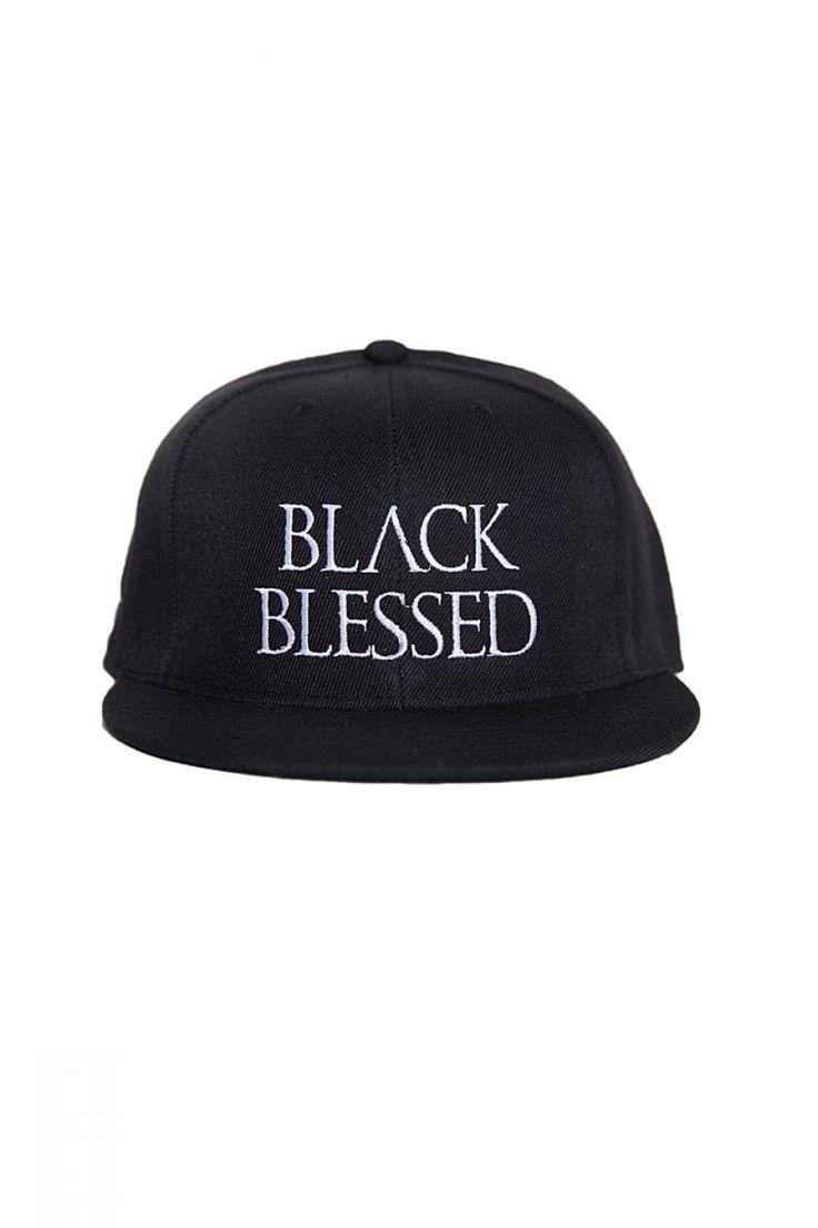 Blackblessed Snapback BLACKBLESSED  @Black Blessed #black #white #fashion #minimal #basic #elegant #designer #urban #urbanchic #dresses #pants #tshirt #top #leggings #white #simple #simplicity