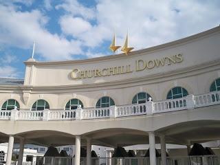 Churchill Downs- entry gates