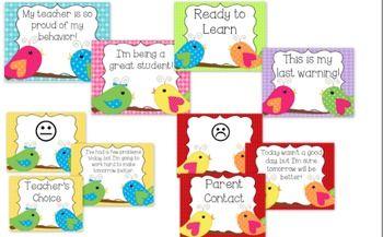 Tweet Tweet! A Complete Bird Theme Classroom Set