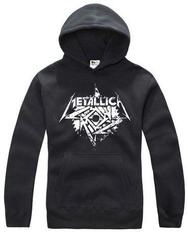 Metallica heavy metal rock band hoodie
