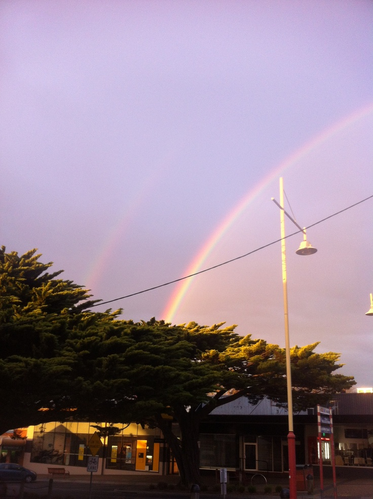Day ten: Symbol. Ianto's symbol has always been the rainbow. There was a huge storm the day of his funeral, which culminated in the biggest and brightest rainbow I'd ever seen as we were leaving his wake.