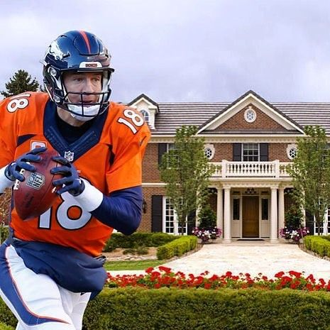 Take a look inside the home of a future Hall a Famer!  Check out Peyton Manning's Denver home. Link in bio.  photo via curbed.com