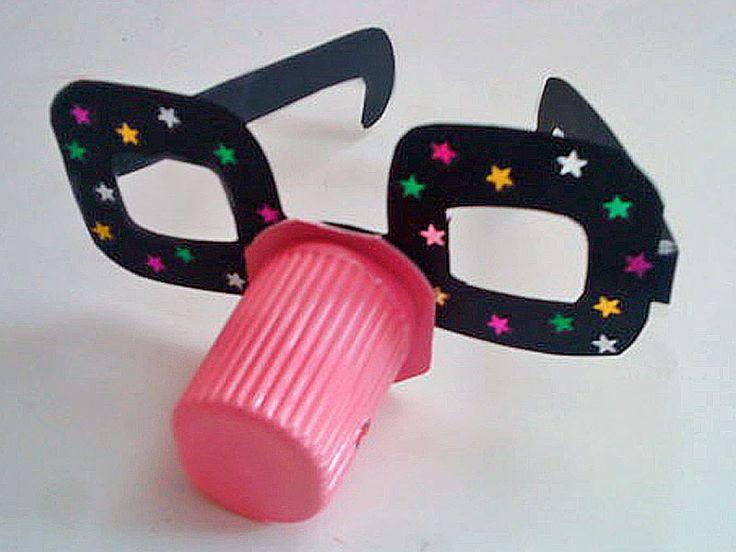 Gafas de carnaval o disfraz
