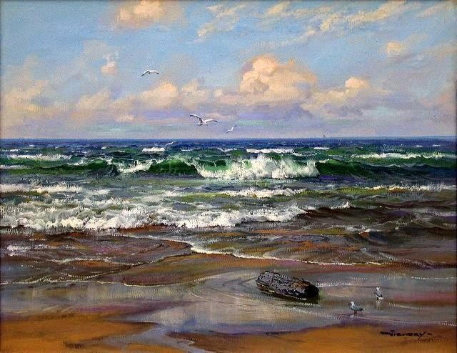 El mar...siempre tan bello...tan impredecible...
