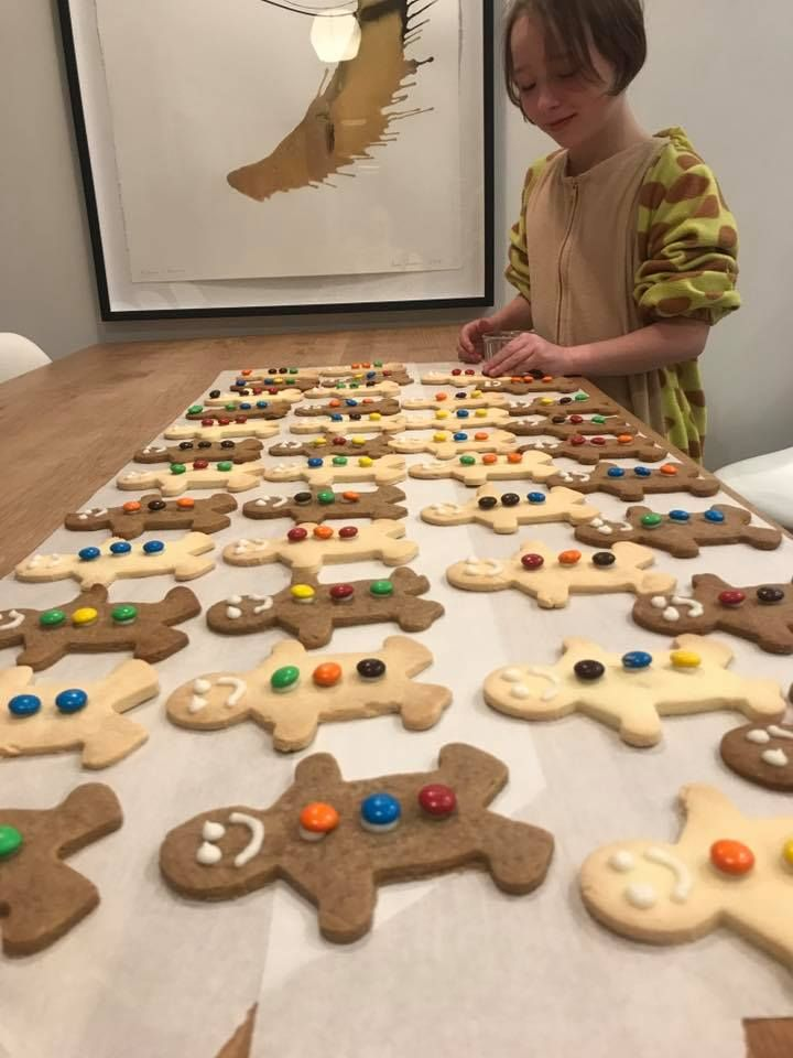 An army of ginger bread and shortbread people from our very own GBB co-founder Marie Fitzpatrick