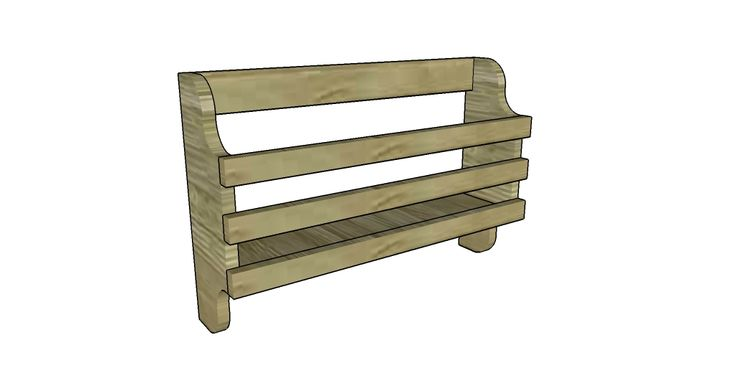 Magazine Stand Designs : Wooden magazine rack plans woodworking projects