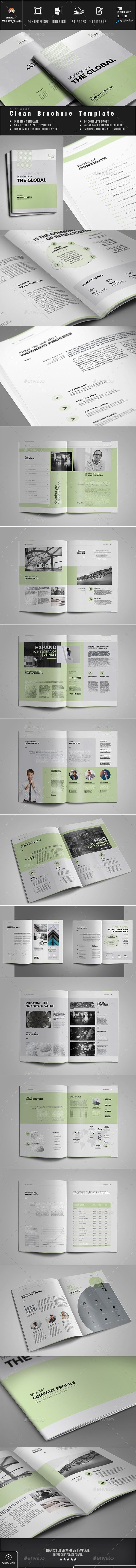 Brochure Template InDesign INDD