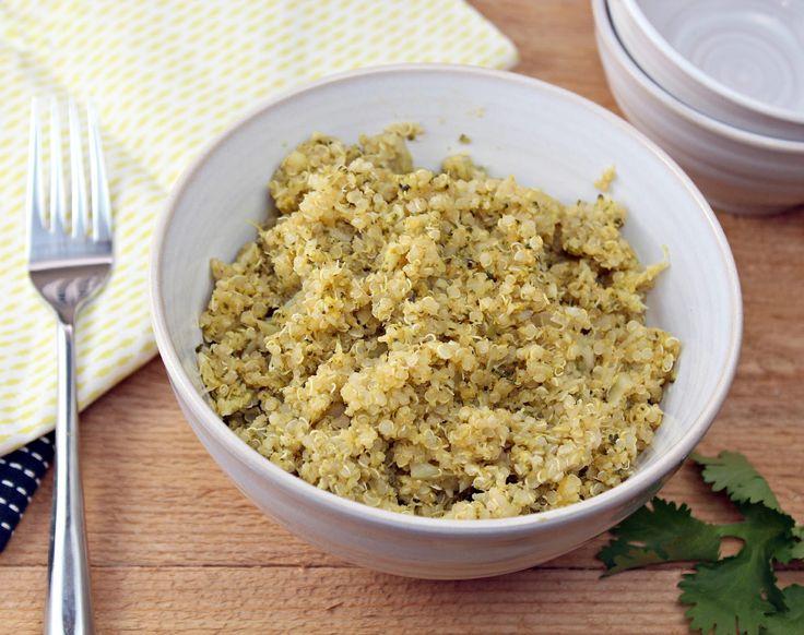 Broccoli Quinoa Pilaf | Generation Y Foodie