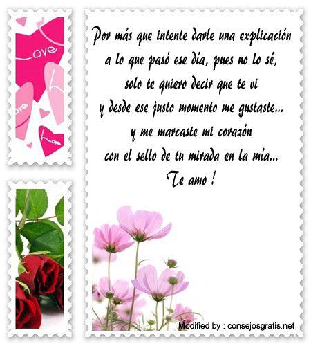 poemas de declaraciones de amor para whatsapp,imàgenes con textos con declaraciones de amor : http://www.consejosgratis.net/frases-te-vi-y-me-gustas/