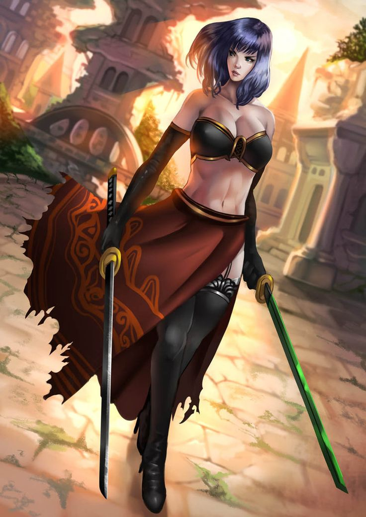 Dark Souls: Natsumi by empress-riona