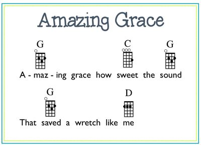 Example 3 Amazing Grace