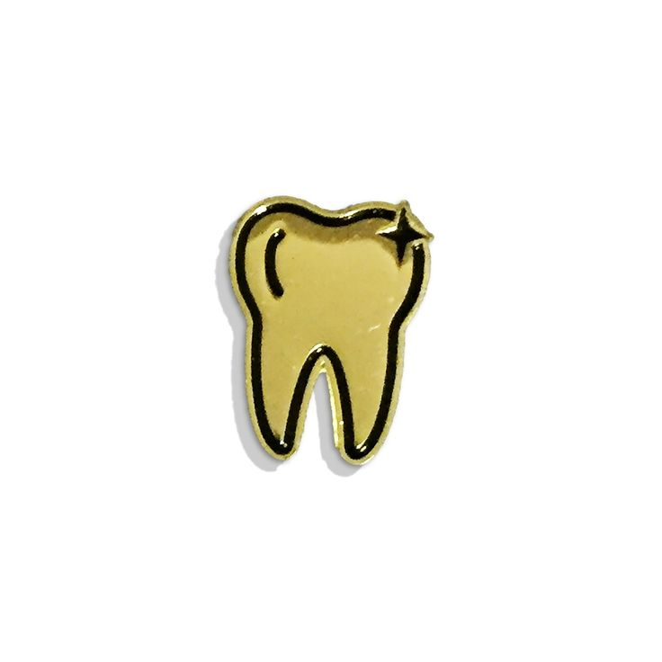 Image of GOLD TOOTH pin