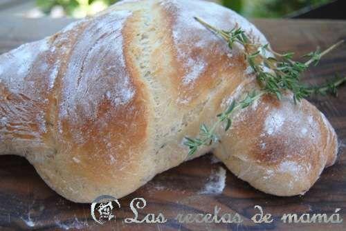 Pan de miel y tomillo.