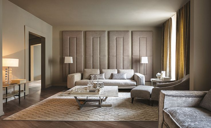 HAMPTONS cozy, elegant, modular sofa by Castello Lagravinese for Casamilano home collection