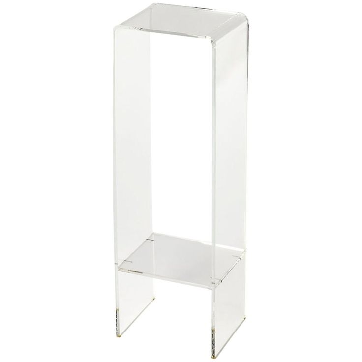 Butler 3612335 Crystal Plant Stand in Clear Acrylic/Clear