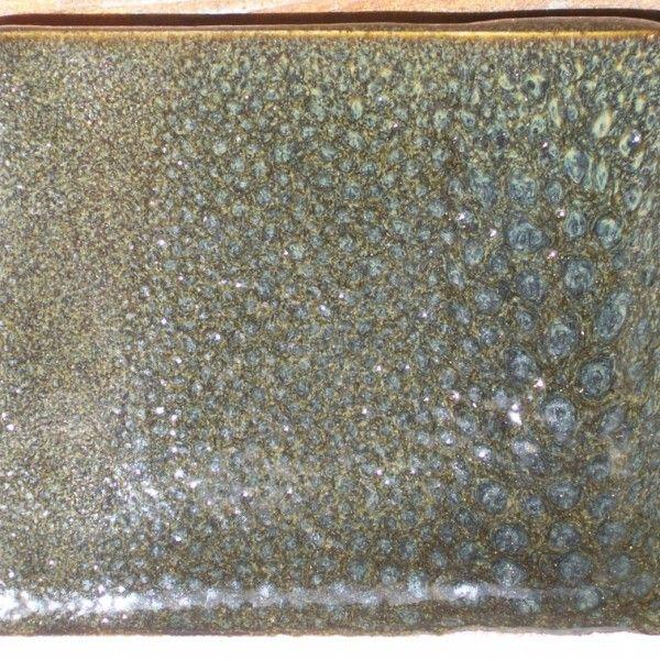 Glaze with 11% RIO, on Walford white stoneware