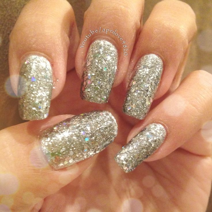 233 best latest nail designs images on pinterest latest nail simple silver glitter nails by aprilove4820 nails diy silver glitter glitter nails pretty girly cute nails ideas fall 2013 diy fall nails diy prinsesfo Choice Image