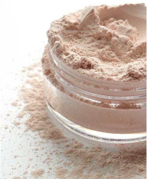 Too Dark Foundation? :Use lighter finishing powder