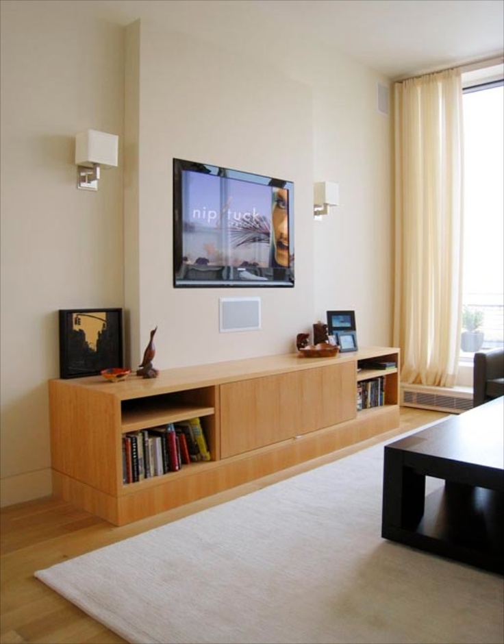 12 best wall mounted television ideas images on pinterest. Black Bedroom Furniture Sets. Home Design Ideas
