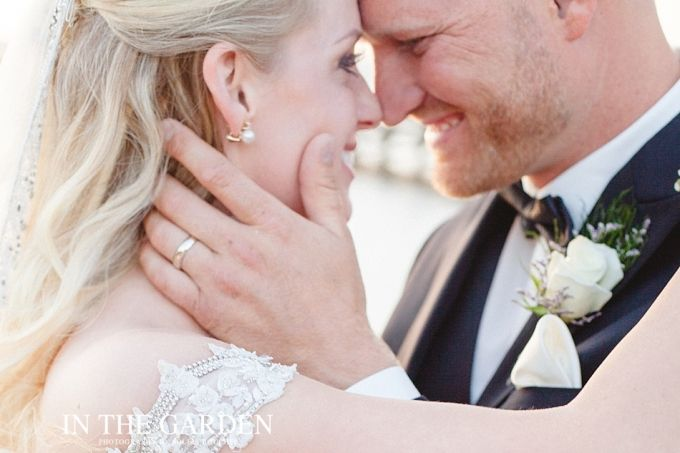 Bride and Groom | In The Garden Photography | Soleil Boucher Photographer