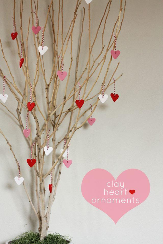The Seasons Tree | Clay Heart Ornaments