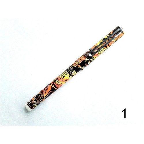 Ceramic roller pen 0.5 mm Logos Ultra Roller -  Kerámia toll roller toll 0,5 mm Logos Ultra Roller Travel Roller ( kerámia hegyű ) toll Travel  0.5 mm írasvastagság, folyékony tintával töltött cserélhető, szabványos betét. Íráshossz: 2000 m. Kék, fekete, piros vagy zöld tintával választható.  Logos Ultra Travel