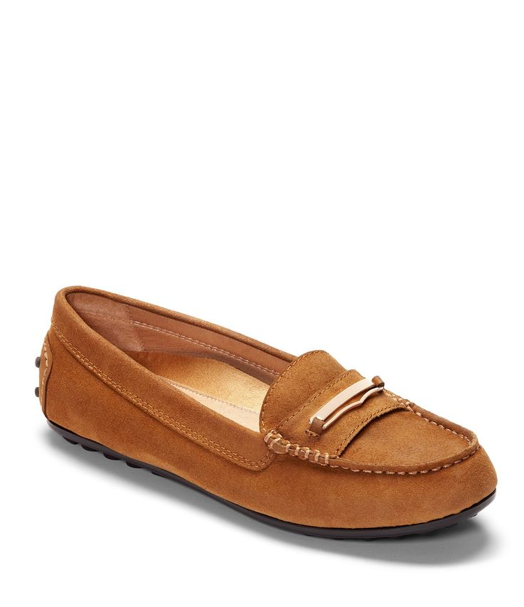 Vionic Honor Ashby Suede Loafers #Dillards