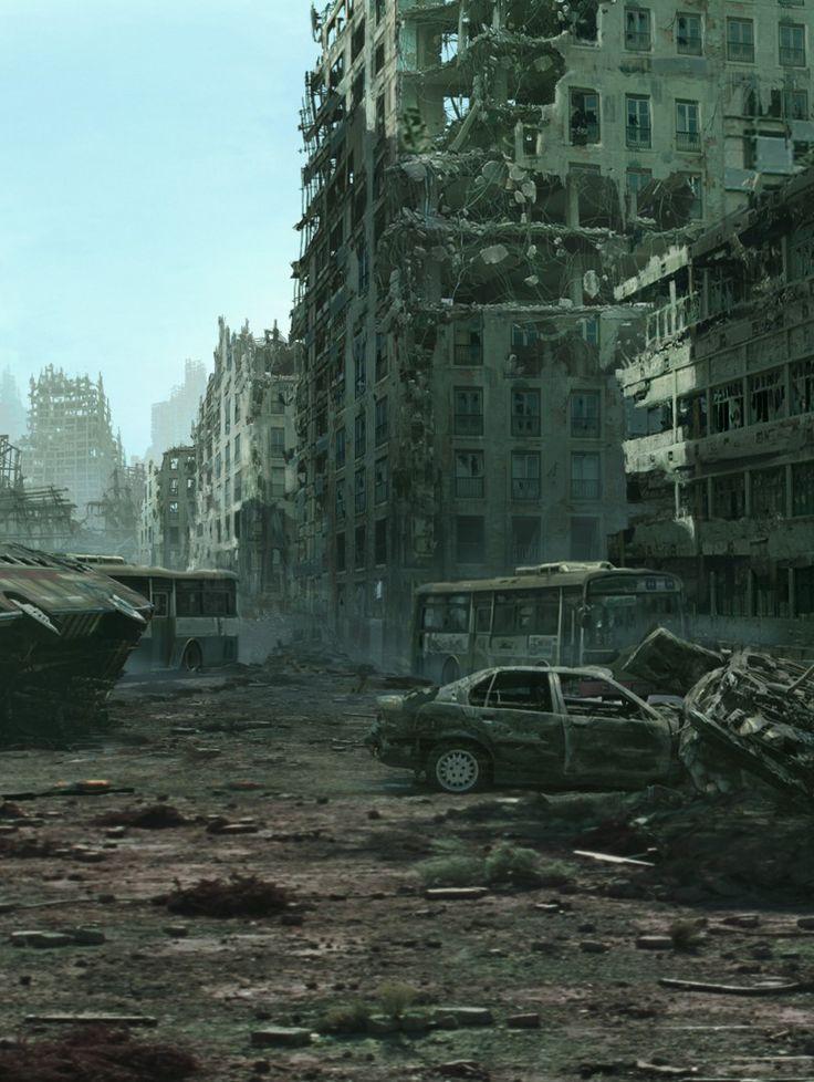 212 best post apocalypse images on pinterest apocalypse for Post apocalyptic decor